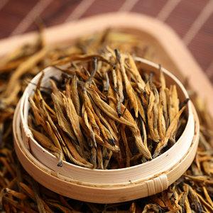 2018春茶云南凤庆滇红茶大金针特级蜜香红茶散茶理条金芽茶叶250g