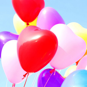 结婚礼<span class=H>气球</span>婚房装饰<span class=H>气球</span>/<span class=H>超大</span>8<span class=H>号</span>12寸1.5克加厚光板心形<span class=H>气球</span>