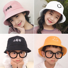 Summer baby cotton hat girl child hat cute super Meng boy fisherman hat thin spring and autumn girl