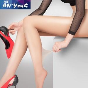 丝袜女薄款防勾丝超薄隐形夏季肉肤色性感长筒透明情趣黑丝裤袜子
