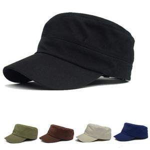 男士平顶帽黑色潮<span class=H>帽子</span>棒球女帽户外军帽鸭舌休闲帽鸭嘴帽遮阳夏季
