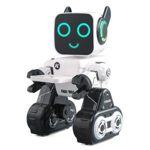 儿童<span class=H>遥控</span><span class=H>机器人</span>玩具唱歌跳舞3-6-7岁充电动男孩礼物<span class=H>白色</span>官方标配