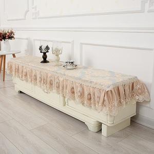 欧式电视柜罩蕾丝茶几布长方形电视柜桌布<span class=H>盖巾</span>布艺鞋柜防尘罩家用