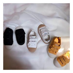 童童妈男童女童软底魔术贴帆布鞋儿童<span class=H>鞋子</span>宝宝板鞋休闲鞋
