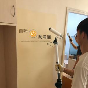 藤原神奇墙刷滚筒刷油漆涂料刷子滚涂机印花乳胶漆刷墙器<span class=H>工具</span>