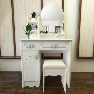 欧式<span class=H>梳妆台</span>卧室化妆台小户型现代简约迷你化妆桌子80cm梳妆桌网红