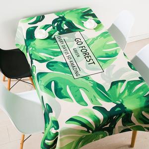 领20元券购买北欧ins棉麻餐桌布长方形防水圆桌桌布布艺网红电视柜茶几桌布