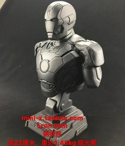 Iron man钢铁侠模型半身像<span class=H>雕塑</span>漫威英雄复仇<span class=H>者</span>联盟树脂手办摆件