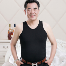 Middle-aged and old men's vest, cotton-padded old man, grandpa's old man's shirt pocket, cotton-padded sweater in summer