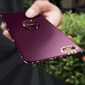 iphone6手机壳<span class=H>苹果</span>6plus<span class=H>手机套</span>挂绳硅胶6s六女款6p带支架水钻防摔