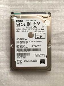 HGST/日立HTS541010A9E680 1T 笔记本<span class=H>硬盘</span>5400转2.5寸9.5MM SATA3