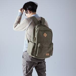 布叮堡超大容量双肩包旅行包休闲男士帆布背包轻便户外旅游<span class=H>运动包</span>