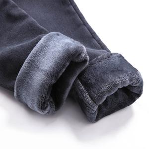 加绒<span class=H>牛仔</span><span class=H>裤</span>女高腰2017新款冬季小脚九分<span class=H>裤</span>紧身显瘦加厚黑色长<span class=H>裤</span>子