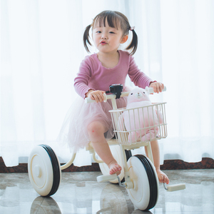 无印升级款儿童<span class=H>三轮车</span>脚踏车1-2-3周岁宝宝轻便简易婴幼儿手推车