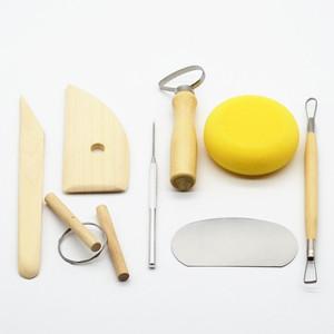 <span class=H>雕塑</span>套装工具 8件套陶艺工具 精雕油泥软陶泥粘土手办陶艺初学<span class=H>者</span>