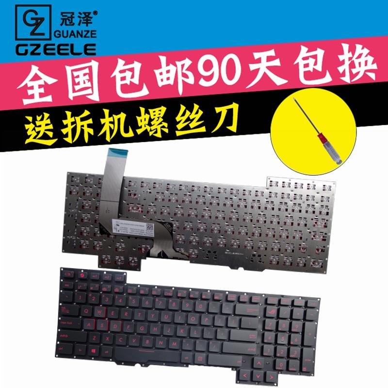 Topi Ze Ansus ASUS Pemutar Country G751 J G751 G751 JY G751 JT Keyboard G751 JM ROG-Internasional