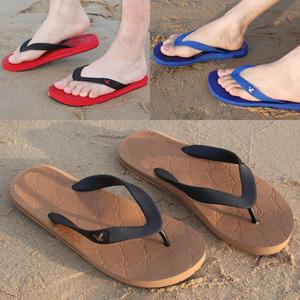 夏季新品男士休闲人字拖防滑耐磨橡胶沙滩鞋潮流英伦<span class=H>男鞋</span>子凉<span class=H>拖鞋</span>