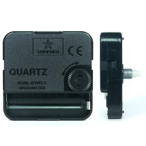 送电池SHINFUKU扫秒静音机芯石英钟表配件挂钟<span class=H>DIY</span>十字绣钟芯