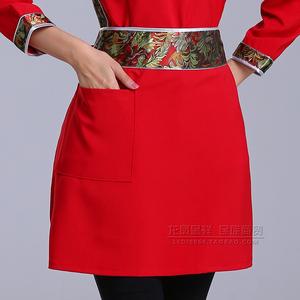 蒙餐厅酒店服务员工作服女蒙古族日常生活居家蒙古袍少数民族工装