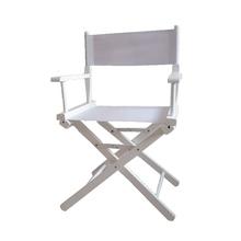 。实木th演椅折叠便3r化妆椅摄影道具椅休闲靠背办公