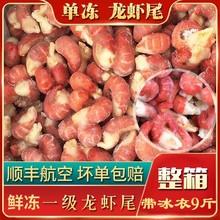 冻龙虾th冷冻虾尾鲜24虾虾尾大号虾球包邮生鲜冰冻虾尾一整箱