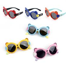宝宝太th镜软质镜框ea线宝宝墨镜可爱男女童偏光眼镜卡通潮式