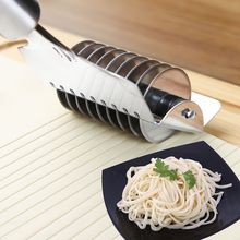手动切th器家用面条bi机不锈钢切面刀做面条的模具切面条神器