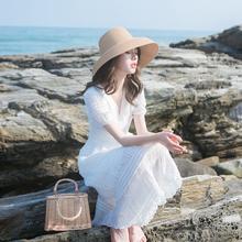 202th夏季新式女la裙子轻熟风气质洋气收腰显瘦法式复古连衣裙