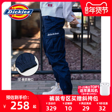 Dickies字母印花男友裤多袋束口休th16裤男秋ce工装裤7069
