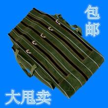 清仓包th80 90li鱼渔具垂钓杆包鱼竿台钓海竿海杆大肚帆布包