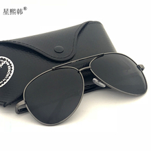 墨镜男th变色太阳镜la车专用防紫外线2020新式潮偏光夜视眼镜