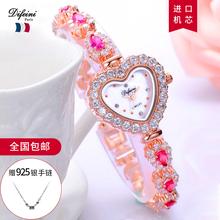 202th年新式手表gr气质轻奢时尚女士手表女ins风女表名牌正品