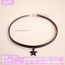 韩国星星choketh6软妹项圈sa简约颈链锁骨链脖链短式项链少女