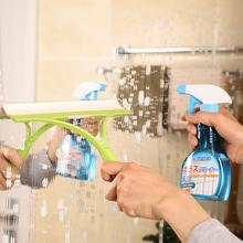日本进th擦剂家用强le浴室镜子汽车擦窗户除垢清洗剂