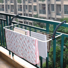 可折叠th晒衣架阳台rd鞋架室外窗台晾衣挂衣服浴室毛巾晒衣架