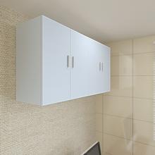 厨房挂th壁柜墙上储ma所阳台客厅浴室卧室收纳柜定做墙柜