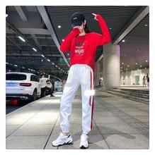 时尚休闲运动套装th52019pi广场鬼步街舞两件套曳步舞服