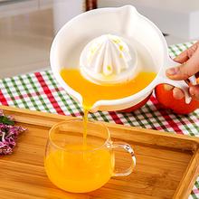 日本进thSanadqu果榨汁器 橙子榨汁机 手动挤汁器