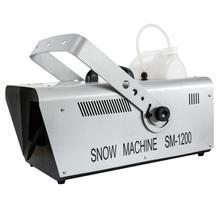 遥控1th00W雪花qu 喷雪机仿真造雪机600W雪花机婚庆道具下雪机