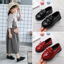 女童(小)th鞋秋季20th式春季软底宝宝鞋豆豆公主鞋英伦风洋气单鞋
