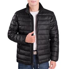 冬季中th年棉袄男装vi服中年棉衣男士爸爸装冬装休闲保暖外套
