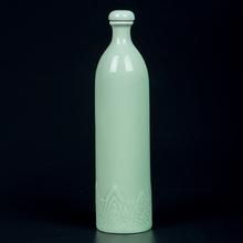 景德镇th瓷酒瓶一斤dr用仿古创意(小)酒壶密封酒坛子空酒瓶带盖