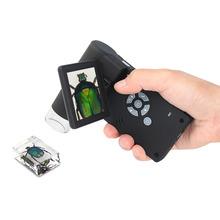 欧美科th子数码手持ea500倍带屏幕便携式拍照维修工业显微镜