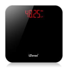 iSethse充电电ea用精准体重秤成的秤女宿舍(小)型的体减肥称重计