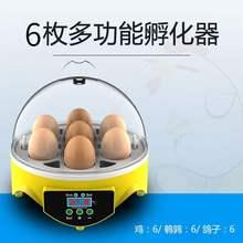 孵化机th自动家用型wp8枚鸡鸭鹅鹌鹑鸽子孵化设备孵化器