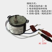 50KTYZth3极款永磁wp电机220V正反转可控微型电动机交流马达