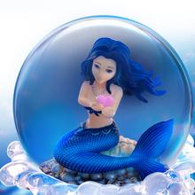 美的鱼ti晶球八音盒mi物女生送女朋友女孩宝宝公主闺蜜