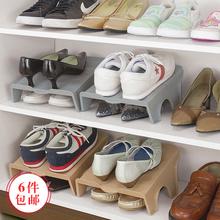 日本鞋ti家用鞋柜简nd经济型现代简约鞋子收纳盒塑料防尘鞋盒