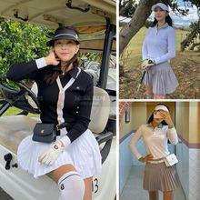 服装服ti腰包韩国高fa尔夫女高尔夫腰带球包腰包装手机测距仪