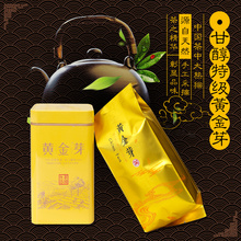 安吉白茶黄金芽ti茶茶叶新茶sog罐装